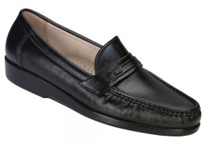 SAS Men's ACE Black Dress Shoe