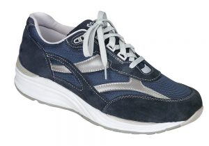 JOURNEY Mesh Blue Tennis - SAS Shoes