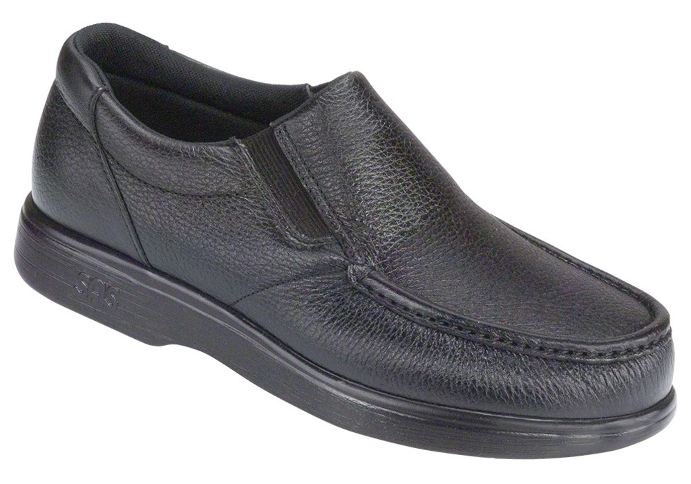SIDE GORE Men's Black - SAS Shoes