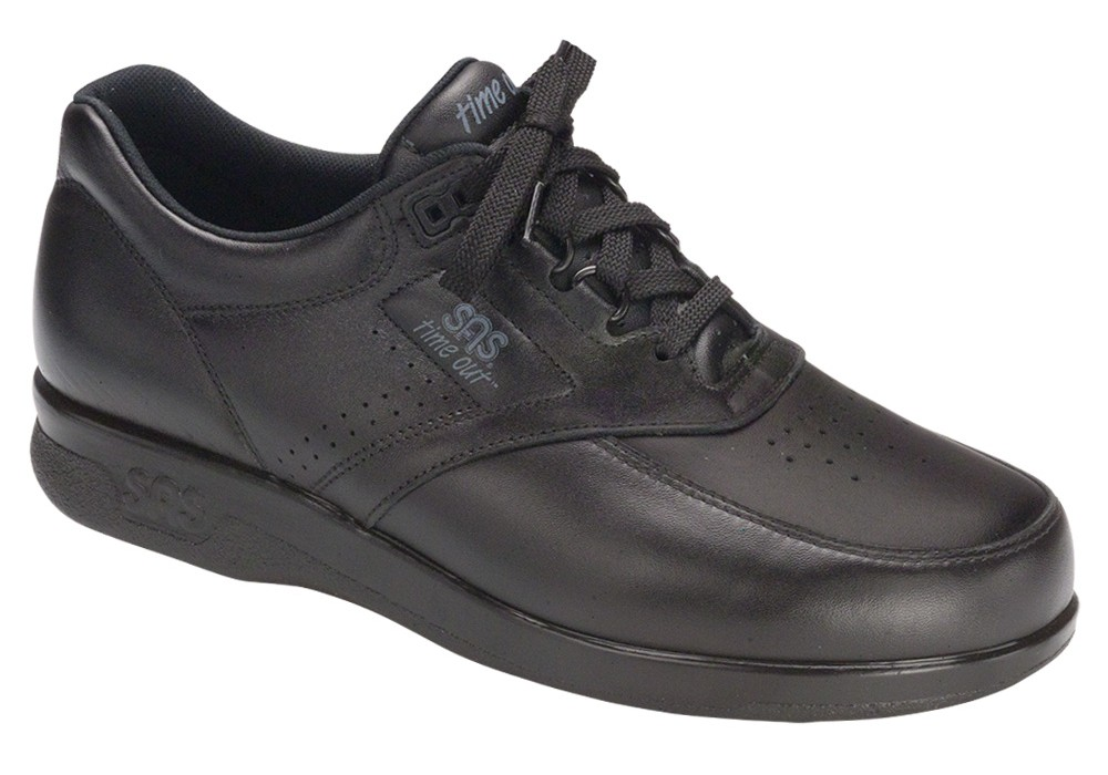 TIME OUT Men's Black - SAS Shoes