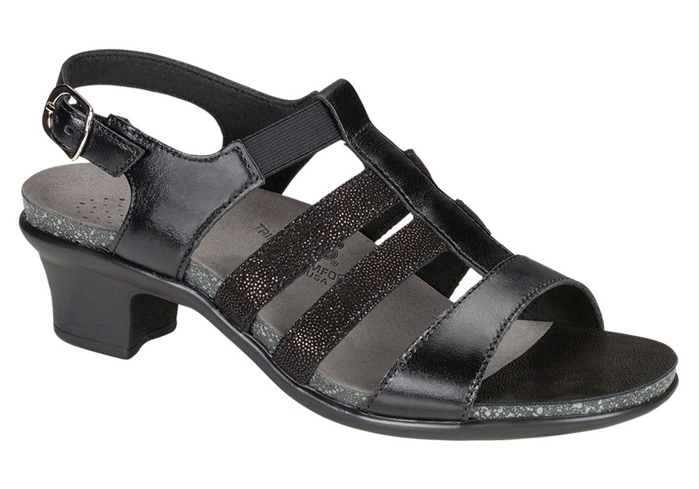 Allegro black - SAS Women's Sandal