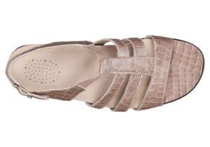 Allegro Taupe Croc - SAS Women's Sandals