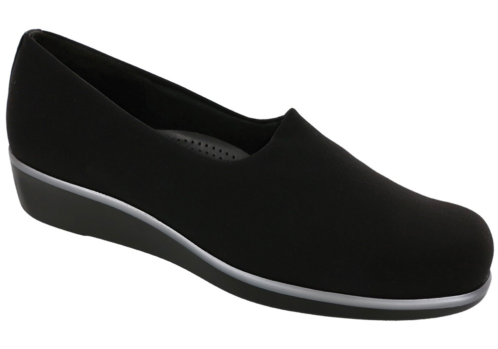 BLISS women's dress shoe - black - slip on - SAS Shoes