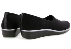 BLISS women's dress shoe - black - slip on - SAS Shoes