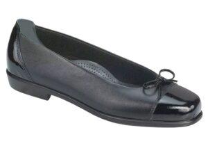 coco womens black bow dress shoe