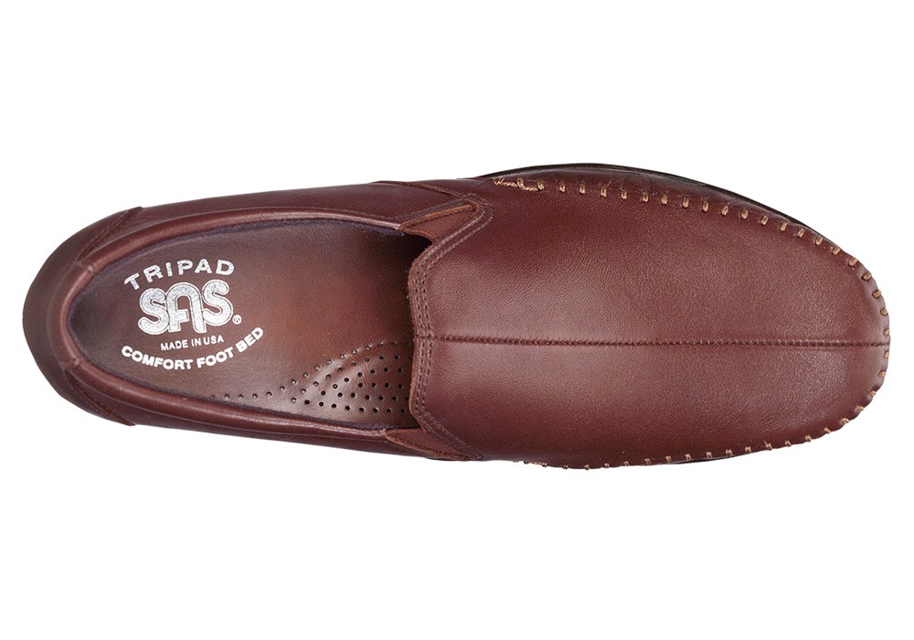 dream brown slip on sas shoes