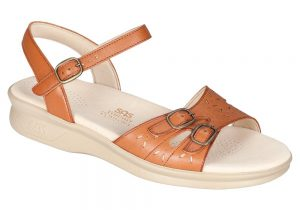 duo womens antique tan leather sandal sas shoes