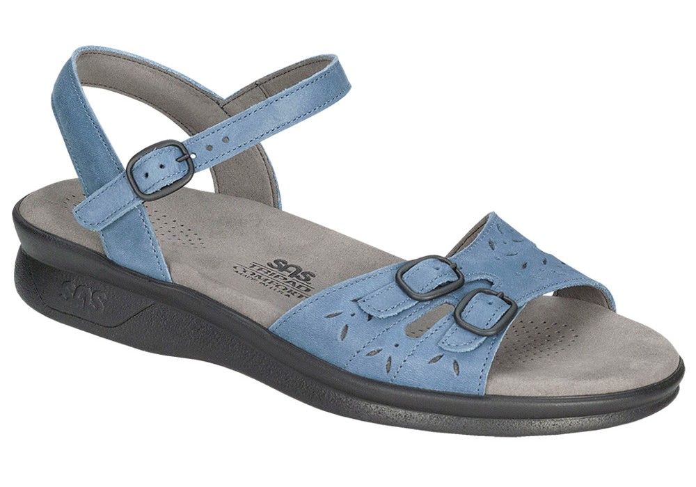 duo womenes denim leather sandal sas shoes