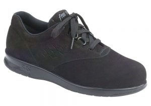 free time charcoal leather active tennis sas shoes