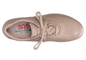 free time mocha womens leather tennis sas shoes