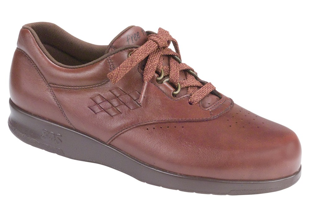 free time teak womens leather tennis sas shoes