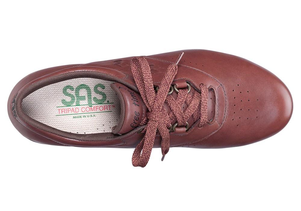 free time teak womens leather tennis sas shoes