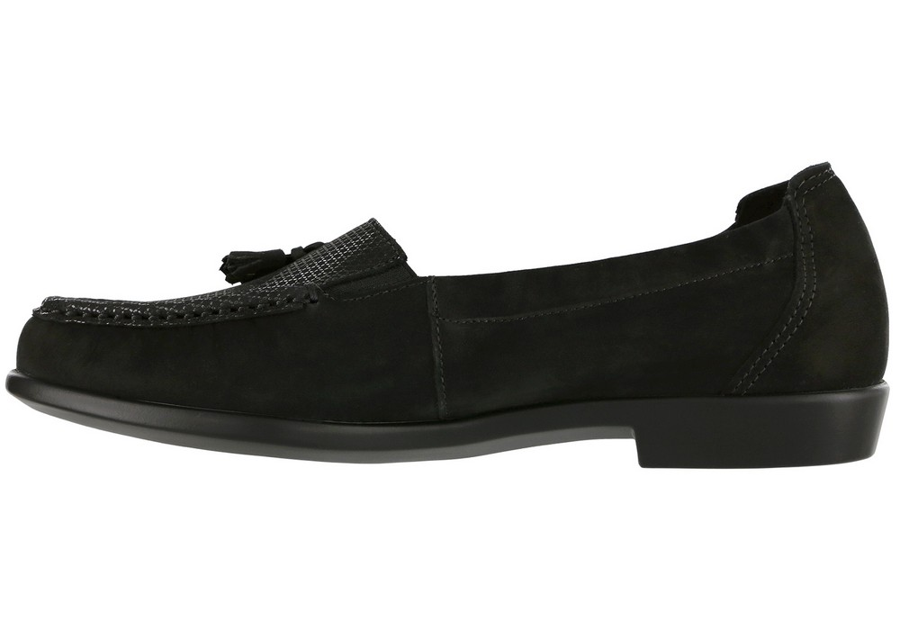 hope womens onyx slip on dress sas shoes