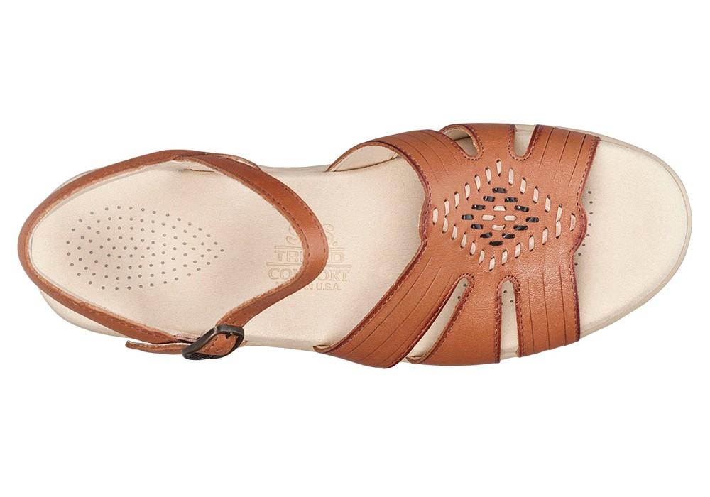 huarache womens antique tan sandals sas shoes
