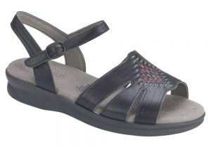 huarache sandal black womens sas shoes