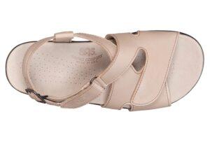huggy truffle leather sandal sas shoes