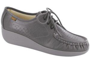 lattice gray oxford sas shoes