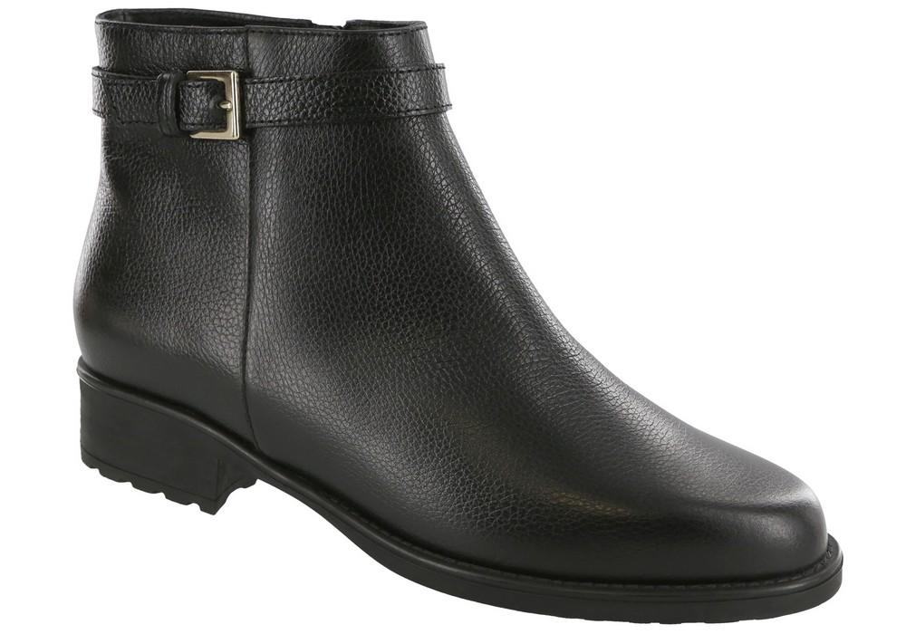maddy womens black boot sas shoes