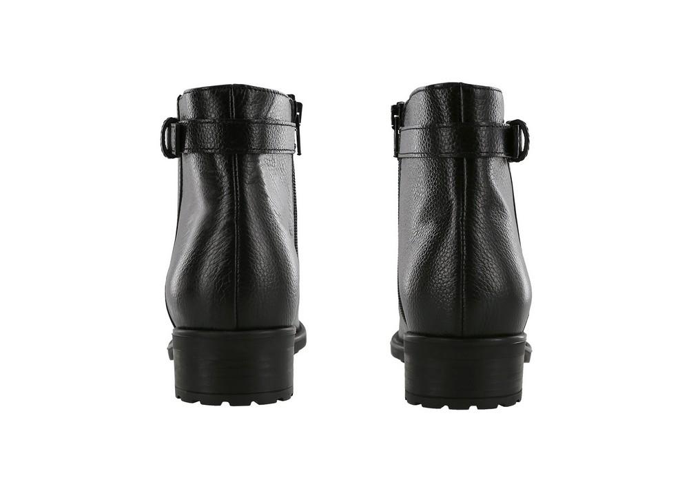 maddy womens black boot sas shoes
