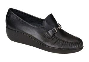 magical black womens slip on sas shoes