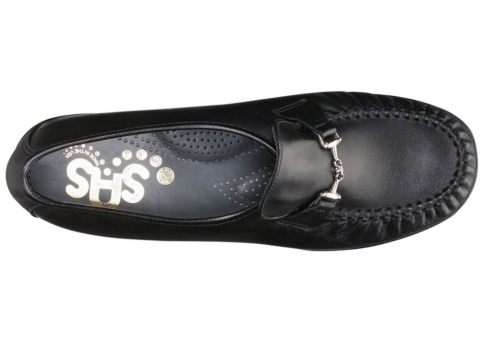 magical black womens slip on sas shoes