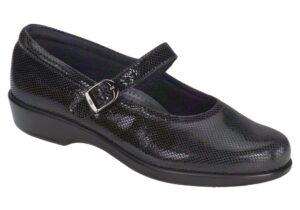 maria black snake slip on sas shoes