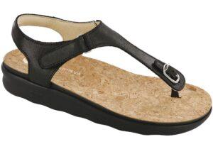 marina womens black sandal sas shoes