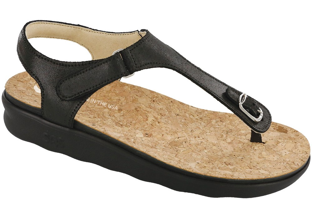 marina womens black sandal sas shoes