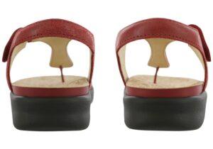 marina womens red sandal sas shoes