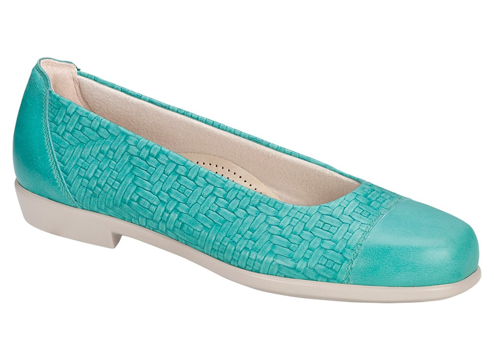 maui womens teal dress sas shoes