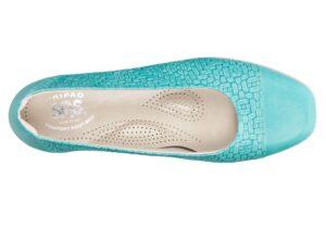 maui womens teal dress sas shoes