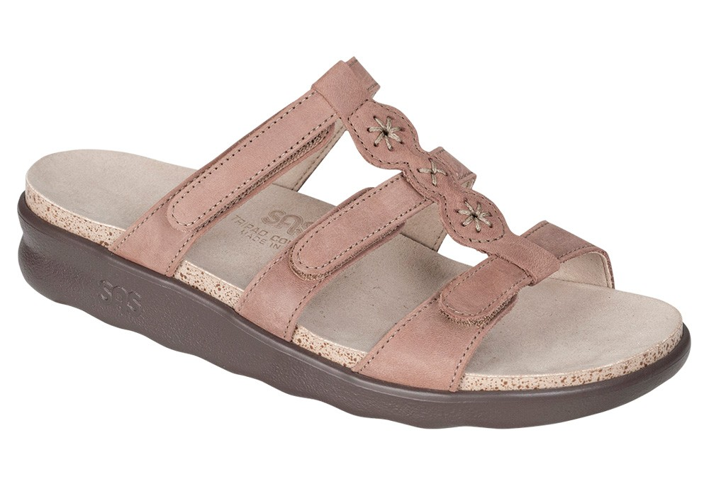 naples womens praline leather sandal sas shoes