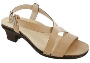 nouveau taupe leather sandal sas shoes