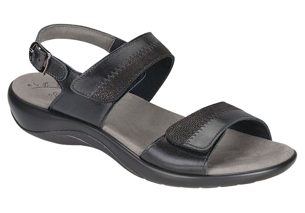 nudu midnight leather sandal sas shoes