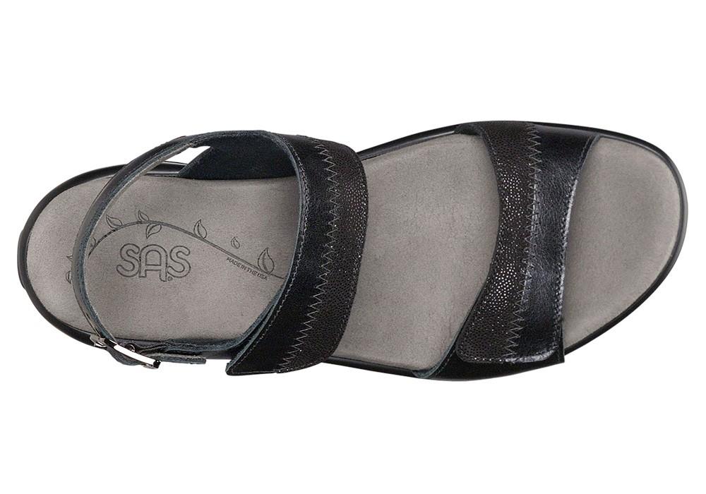 nudu midnight leather sandal sas shoes