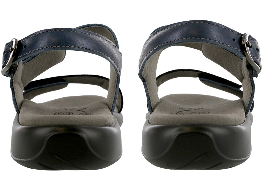nudu navy leather sandal sas shoes