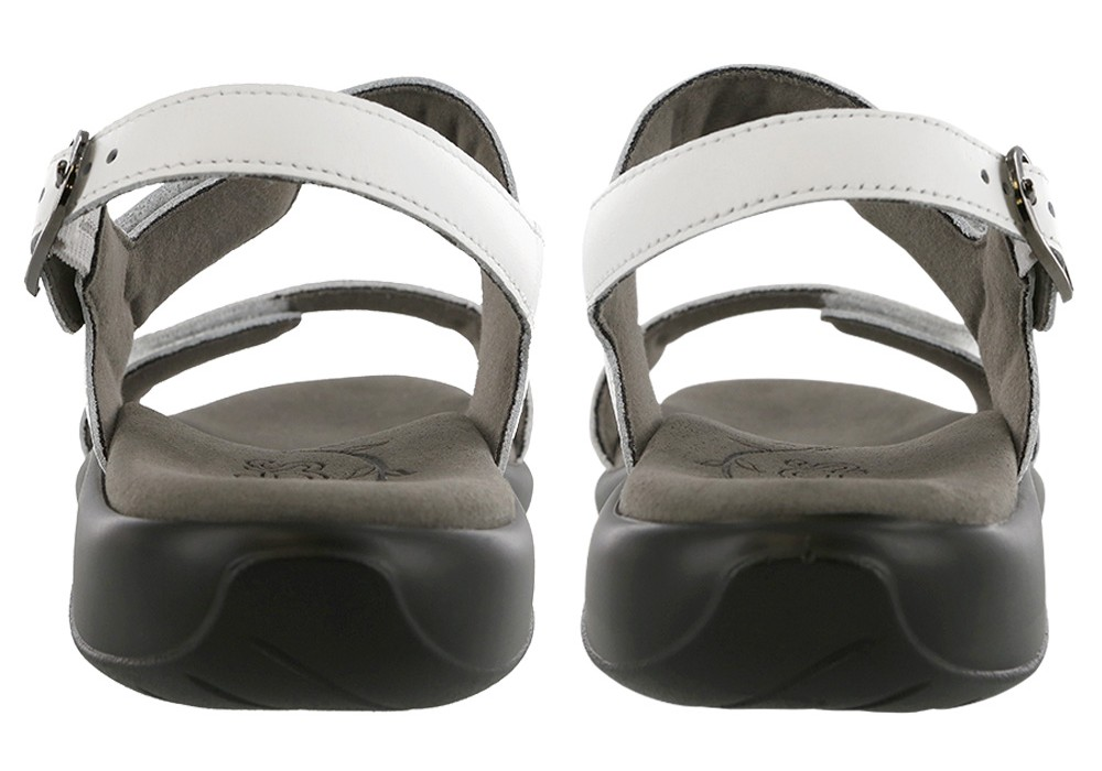 nudu white leather sandal sas shoes