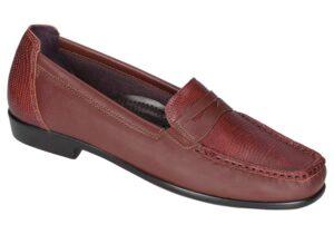 penny j siena leather slip on dress sas shoes
