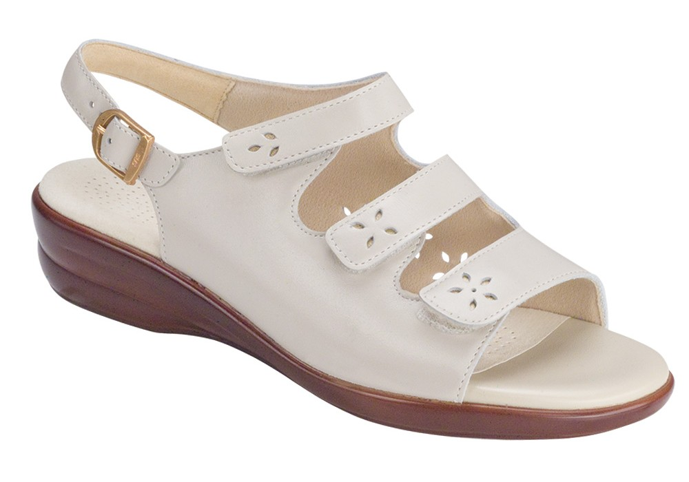 quatro womens bone leather sandal sas shoes