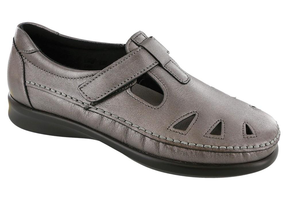 roamer santolina leather slip on sas shoes