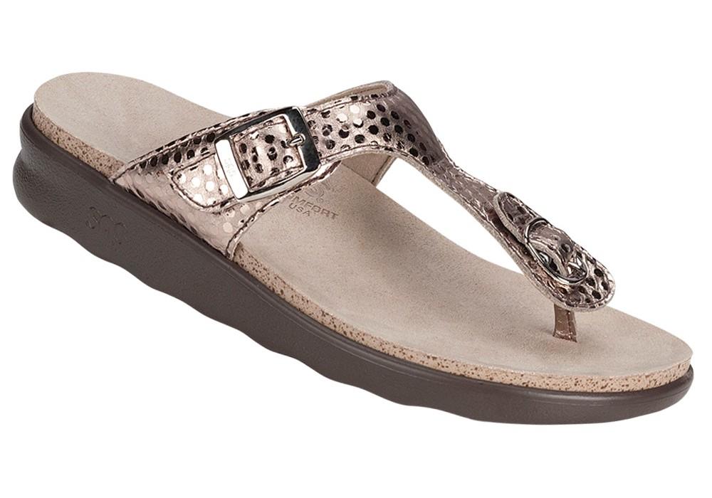 a1dd85e031a47f sanibel womens oro foil leather sandal sas shoes