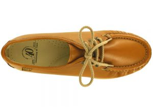 siesta british tan leather oxford sas shoes