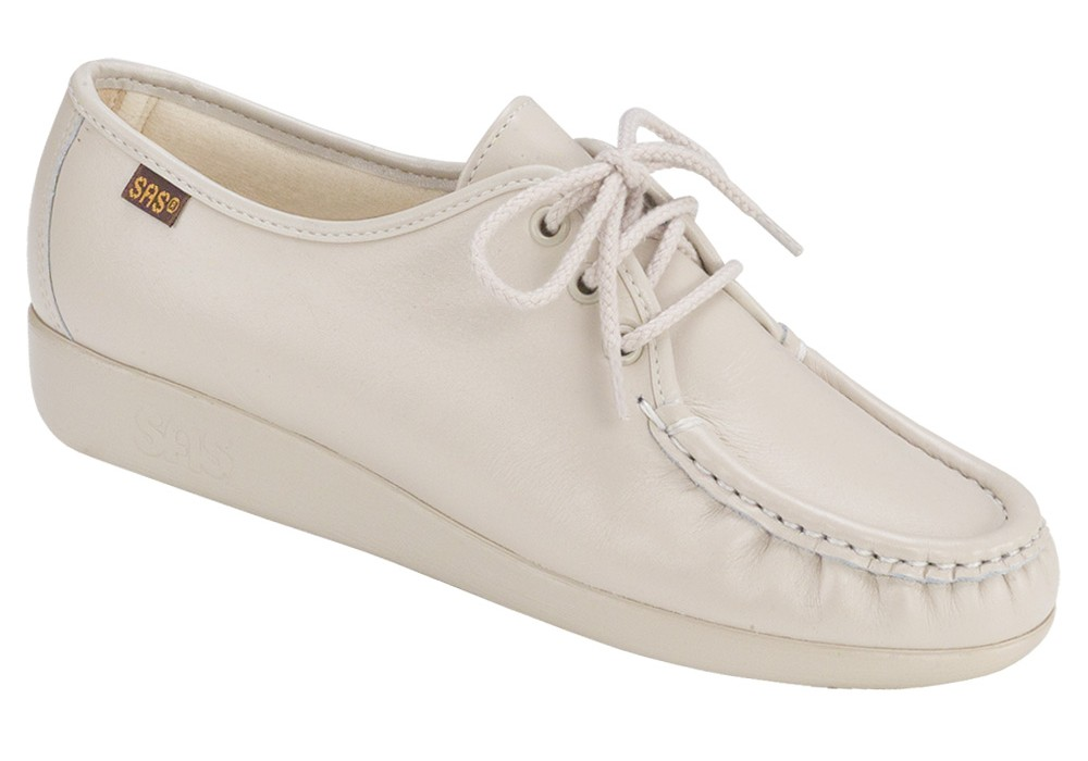 siesta bone leather oxford sas shoes