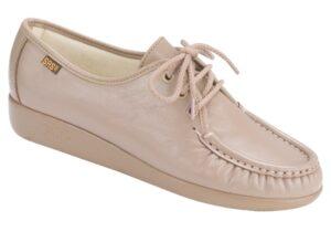 siesta mocha leather oxford sas shoes