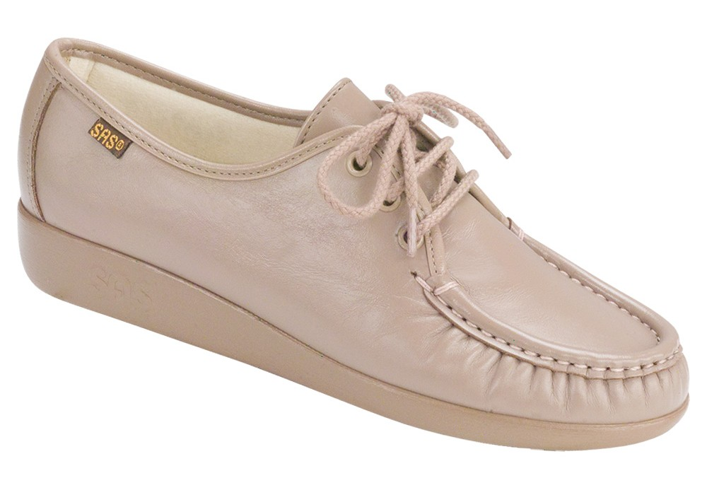 siesta mocha leather oxford sas shoes