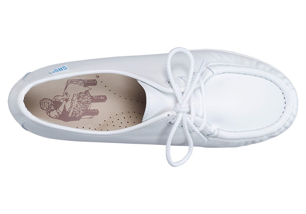 siesta white leather oxford sas shoes