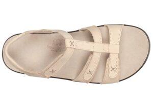 sorrento linen leather sandal sas shoes