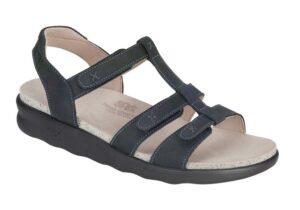 sorrento nero leather sandal sas shoes
