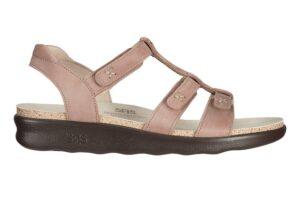 sorrento praline leather sandal sas shoes