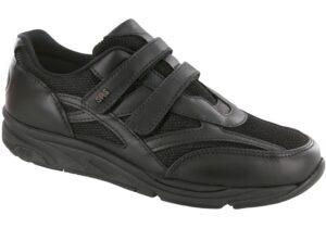 tmv black active tennis sas shoes
